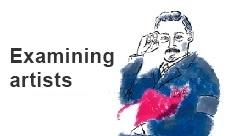 Examining artists