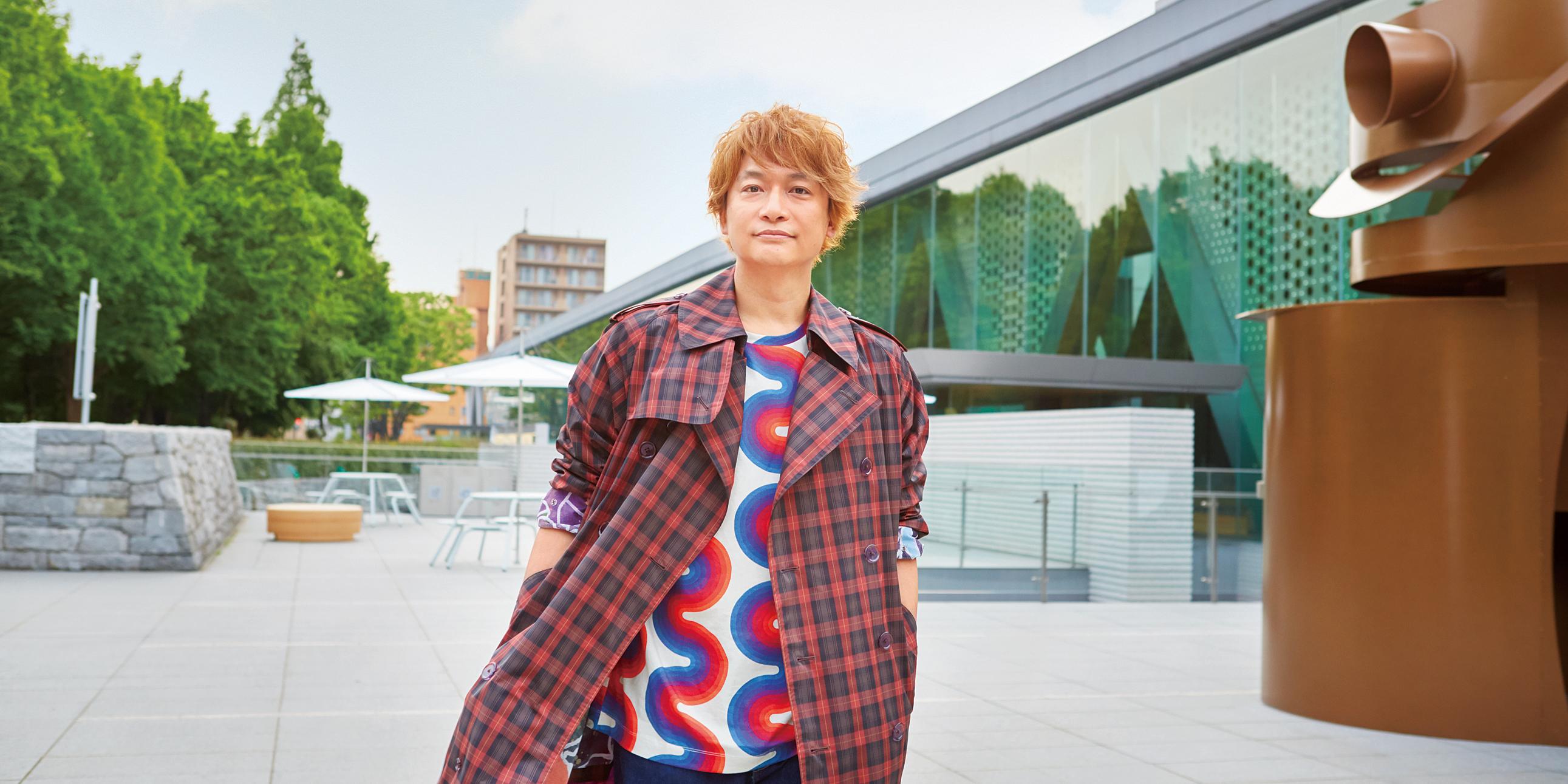 香取慎吾さんのポートレート画像